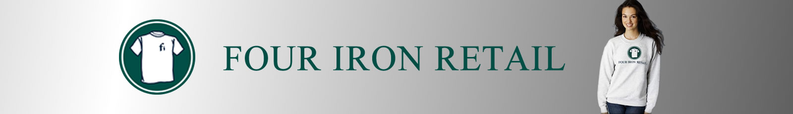 Four Iron Retail website banner